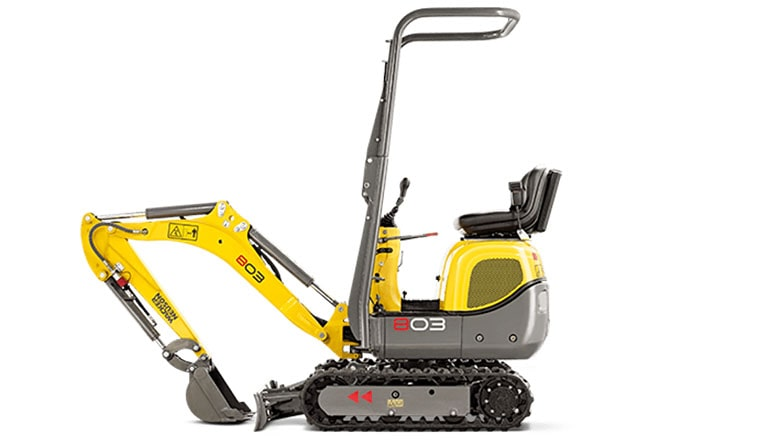 Wacker Neuson 803 Mini Excavators