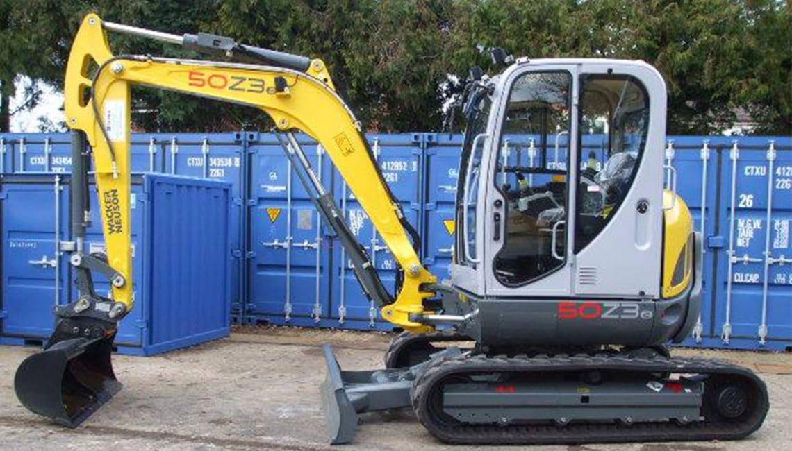 Wacker Neuson 50z3 Mini Excavators