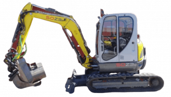 Hire Wacker Neuson 50z3 Mini Excavators 50z3