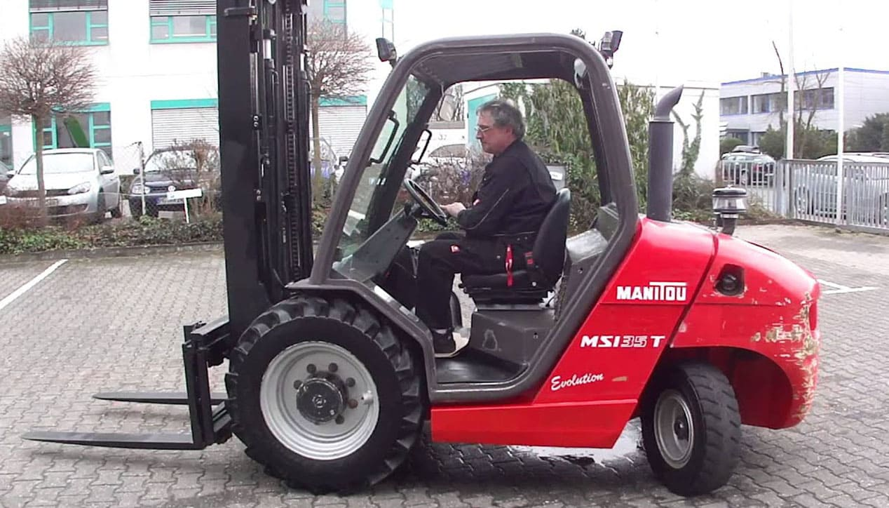 Manitou MSI 35 Masted Forklift