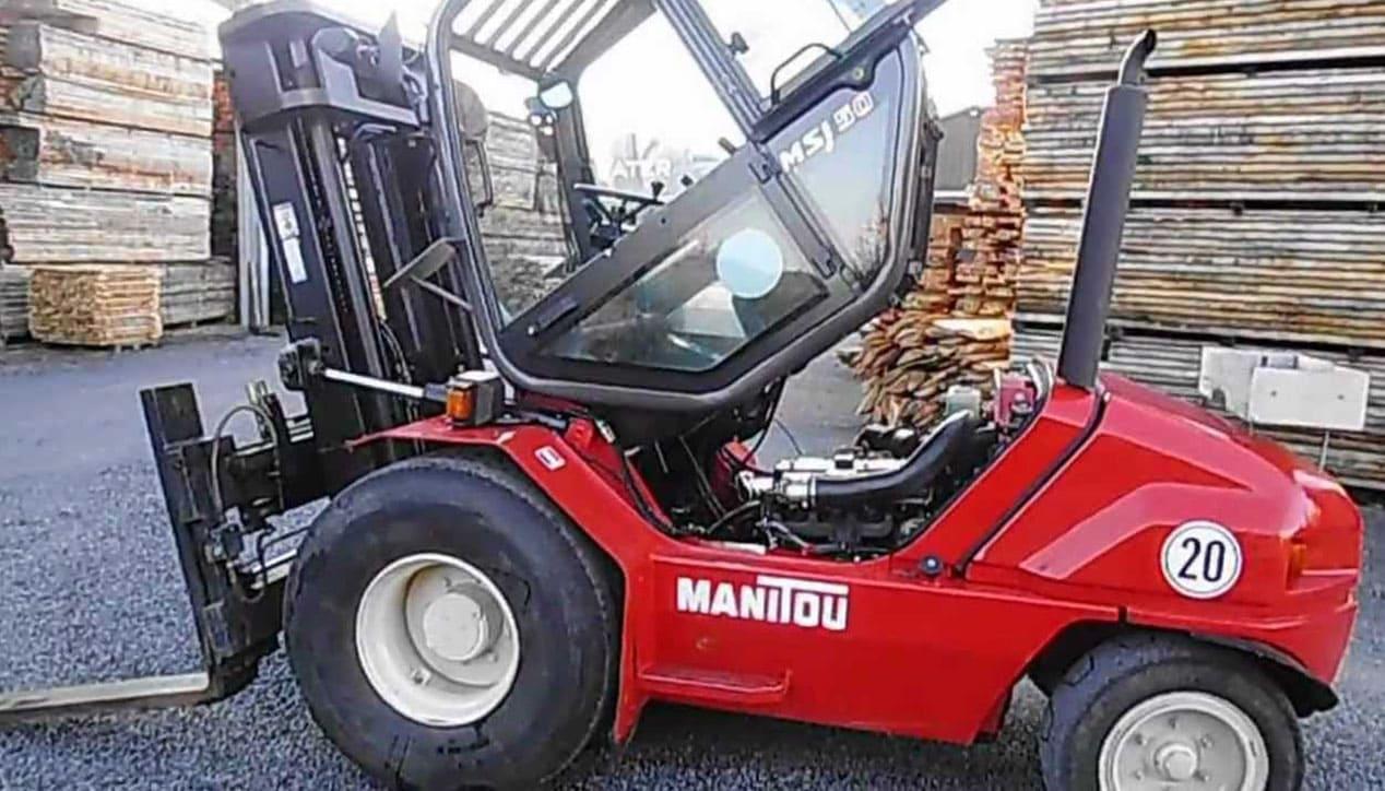Manitou MSI 50 Masted Forklift