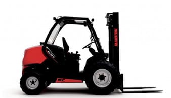 Manitou MC18-4 Rough Terrain Forklift for rent MC18-4 Rough Terrain Forklift