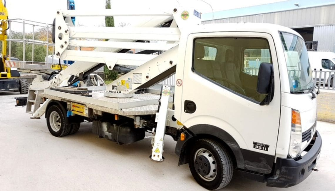 ISOLI PNT205 Truck Mounted Lifts For Rent