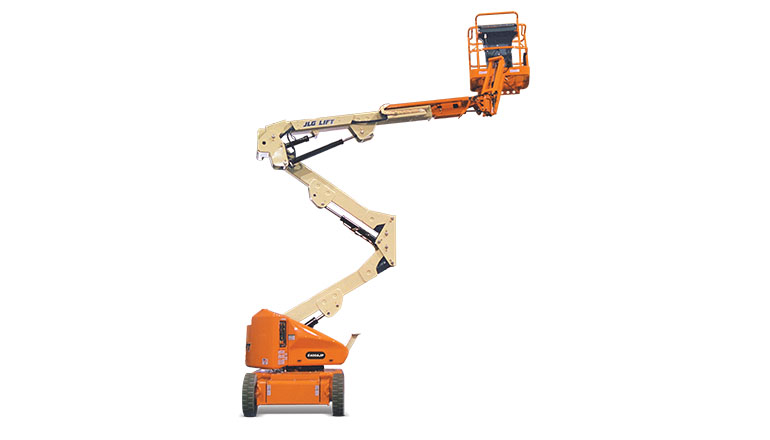 JLG E 400 AJP Articulated Boom Lift For Rent