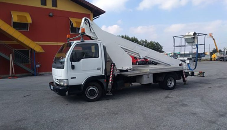 CMC PLA 210 Truck Mounted Lifts for Rent