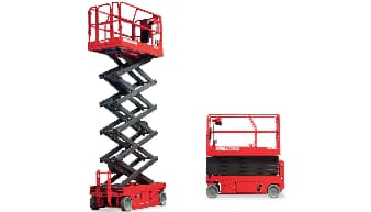 Manitou 120 SE Scissor Lift For Rent