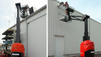 Manitou 100 VJR Articulated Boom Lifts For Rent