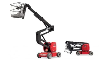 Manitou Boom Lifts For Rent