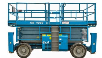 Hire Genie GS 4390 Scissor Lift