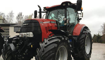 Case IH CVX 165 Tractors For Rent