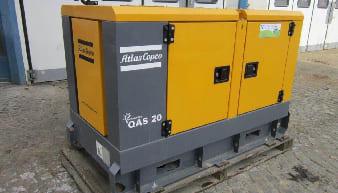 Atlas Copco QAS 20 Mobile Generator