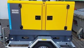 Rent Atlas Copco QAS 20 Mobile Generator