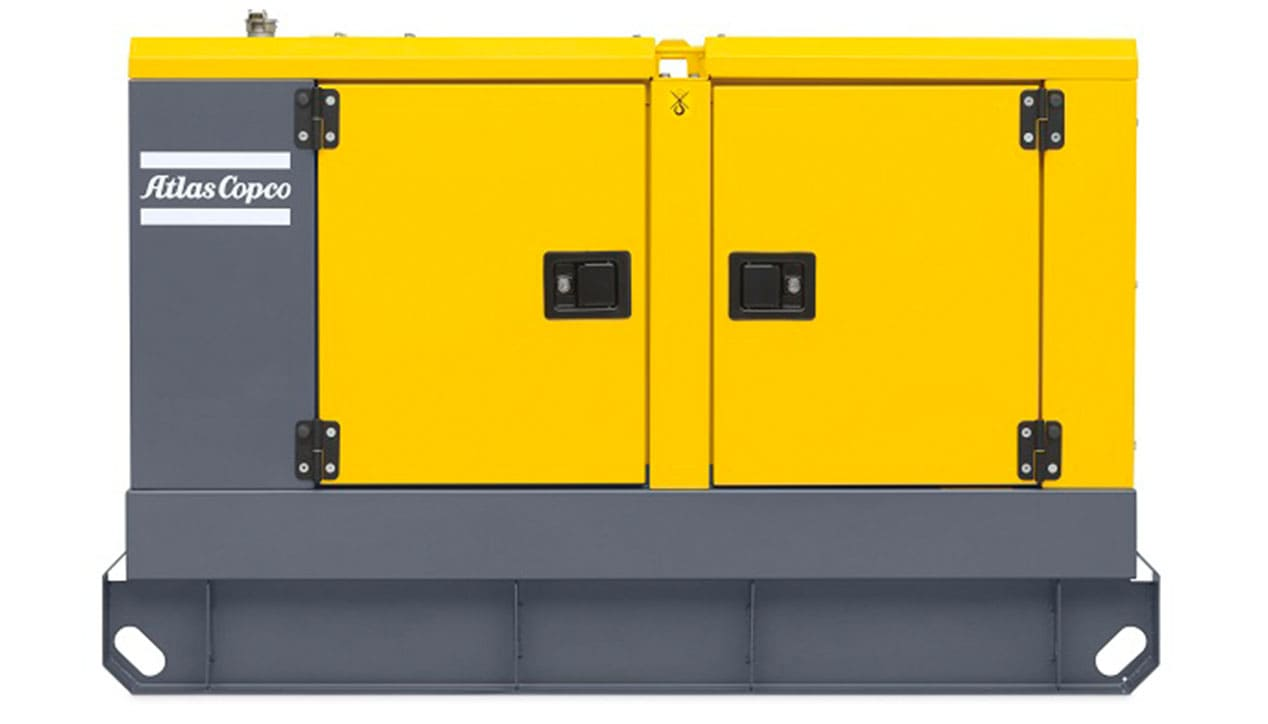 Atlas Copco QAS 40 Mobile Generator For Rent