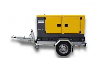 Atlas Copco Mobile Generator For Rental QAS 40