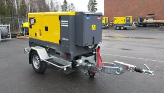 Rent Atlas Copco QAS 40 Mobile Generator