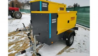 Atlas Copco QAS 40 for Rent
