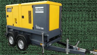 Atlas Copco QAS 100 Mobile Generator QAS 100