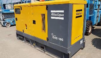 Atlas Copco QAS 100 Mobile Generator For Rent