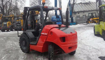 Manitou MSI 25 Masted Forklift