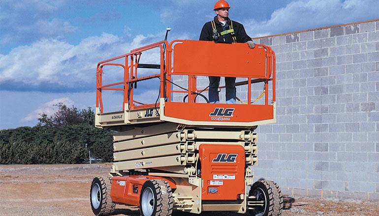 JLG 4069 LE Met Stempels Scissor Lift For Rent