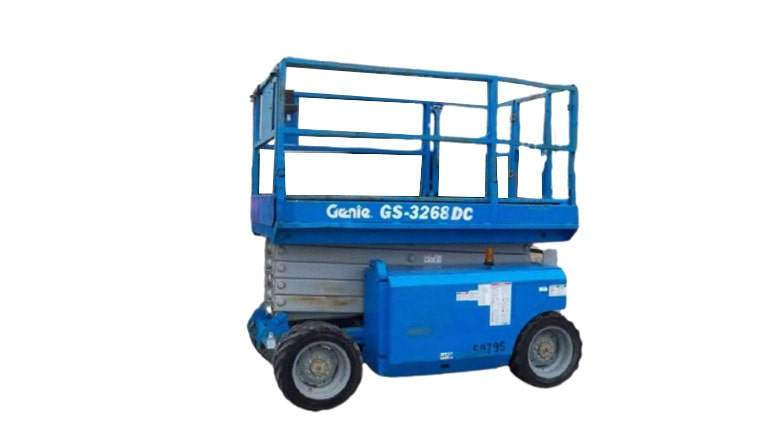 Genie GS 3268 DC Scissor Lift For Rent
