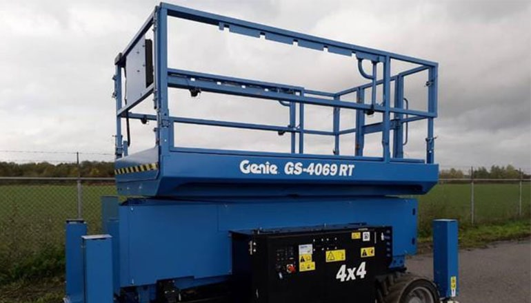 Genie 4069 RT Scissor Lift For Rent