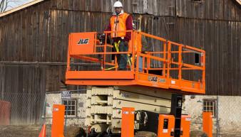 JLG 530 LRT Scissor Lift For Rent