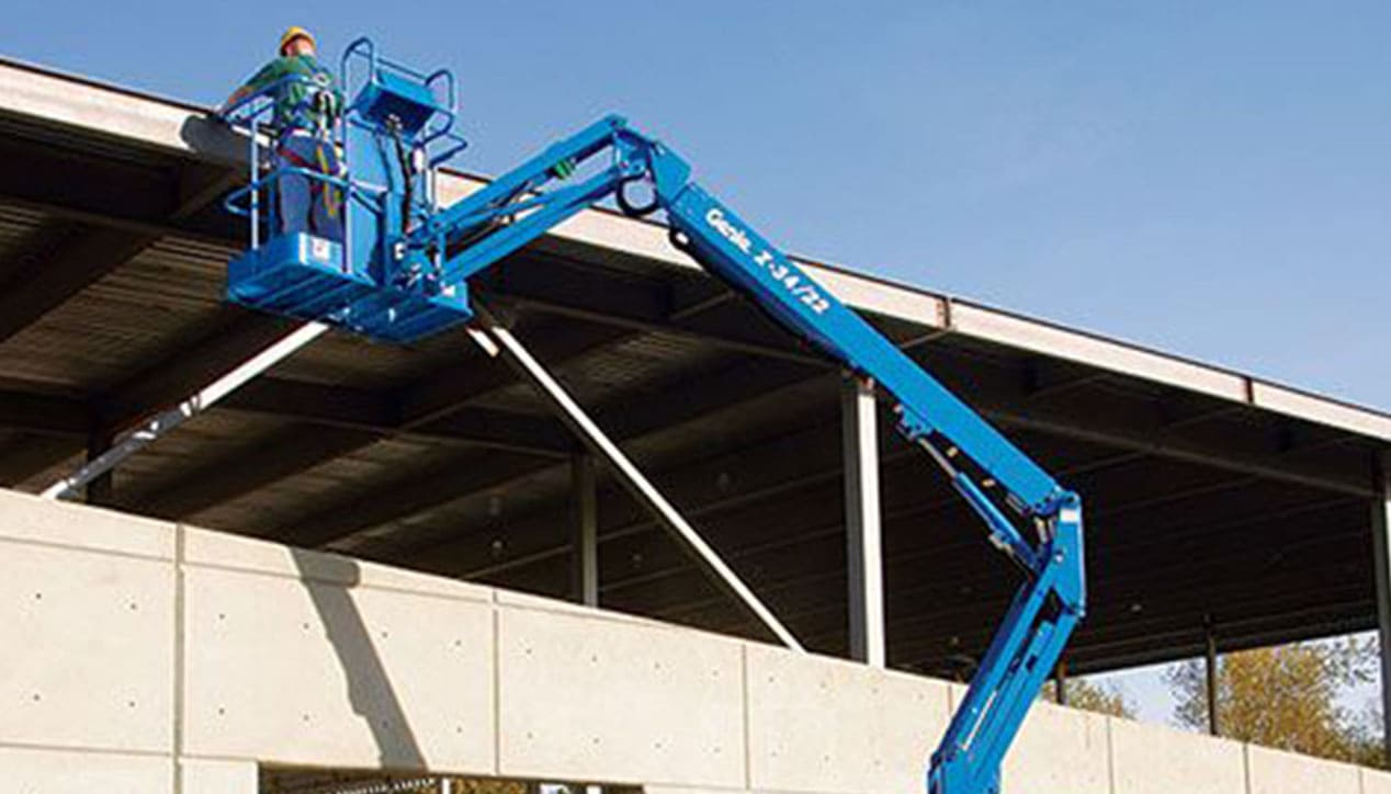 Genie Z 34/22 N Articulated Boom Lift For Rent