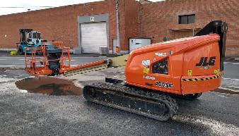 JLG 400 SC Rups Crawler Excavator For Rent