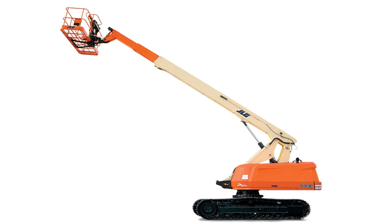 JLG 600 SC Rups Crawler Excavator For Rent
