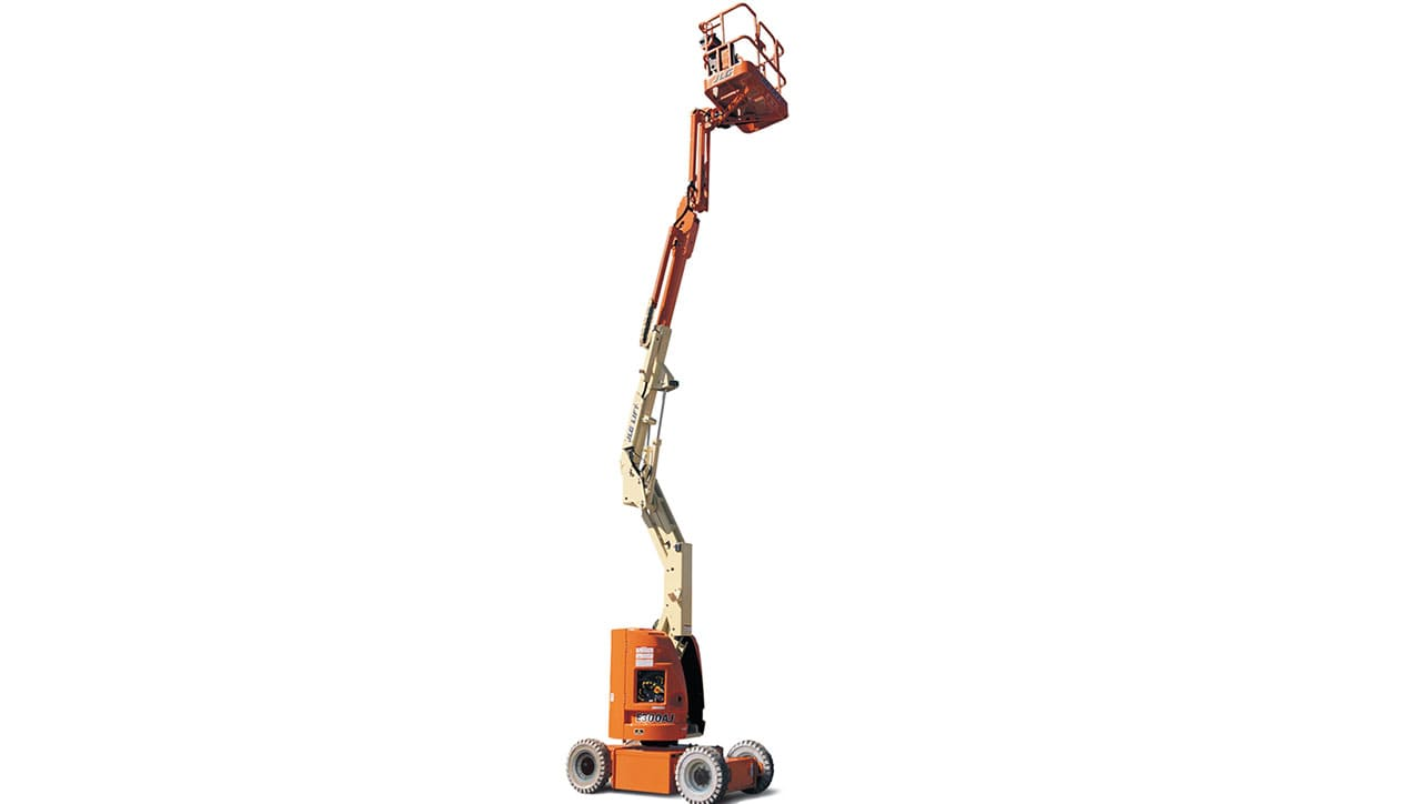 JLG E 300 AJP Articulated Boom Lift For Rent