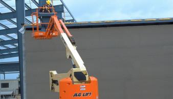 JLG E 450 AJ Articulated Boom Lift For Rent