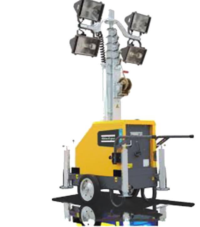 Construction Site Services | Towable Light Towers