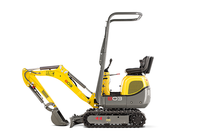 Mini Excavators | Earth Moving Equipment | Rentaga